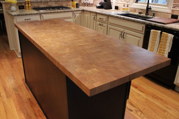 White Oak End Grain 2 San Diego - The Countertop Company